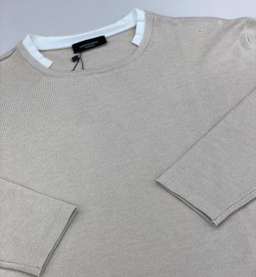 PASEO DE GRACIA Jersey de punto detalle en el cuello