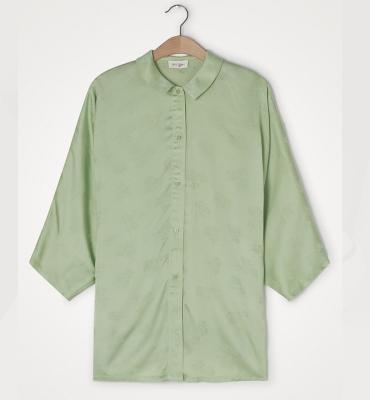 AMERICAN VINTAGE Camisa manga larga detalle floral