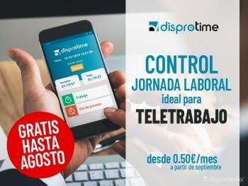 Servei de gestió i control jornada laboral teletreball SENSE COST