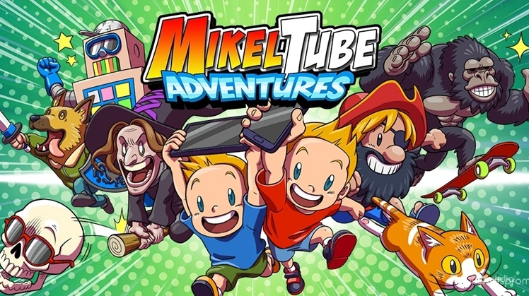 Nouvelle application de jeux Mikel Tube