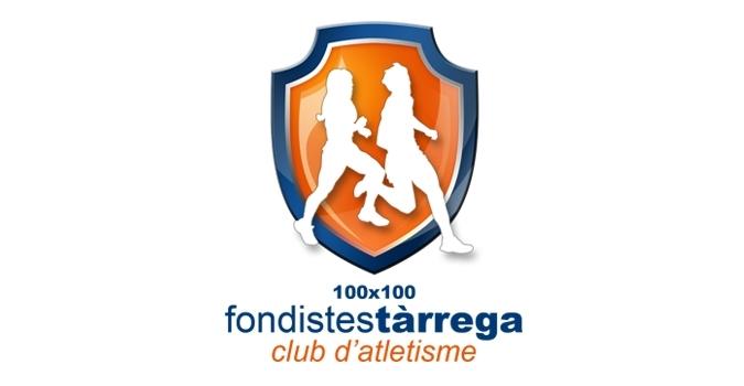 Dispromèdia, con el club de atletismo 100x100 Fondistes Tàrrega