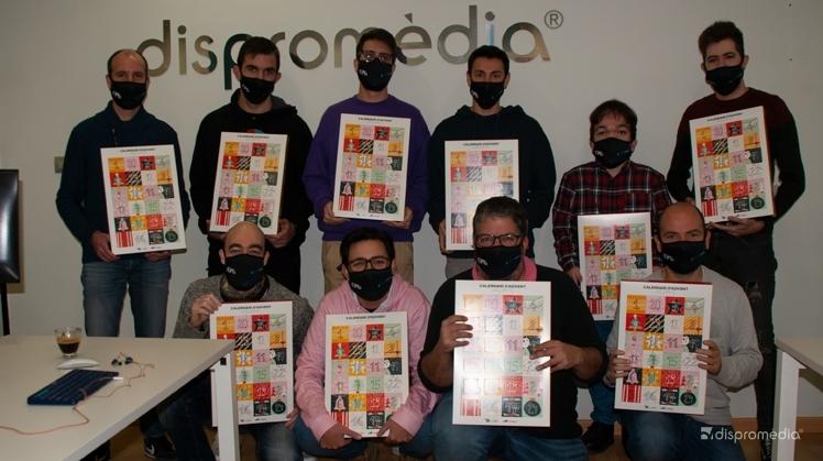 Dispromèdia colabora con el calendario de adviento de Associació Alba
