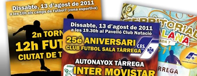Dispromèdia patrocina el Club futbol Sala Tàrrega