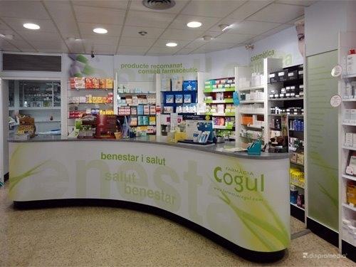 Rotulación Farmacia Cogul de Tarragona