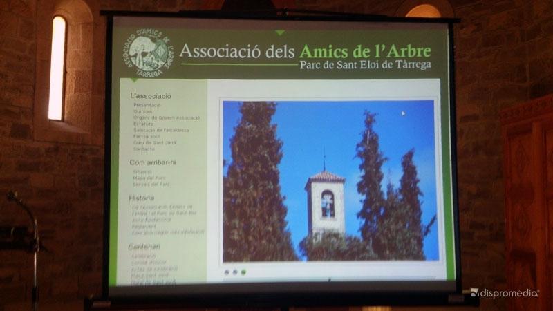 Presentación web dels Amics de L'Arbre