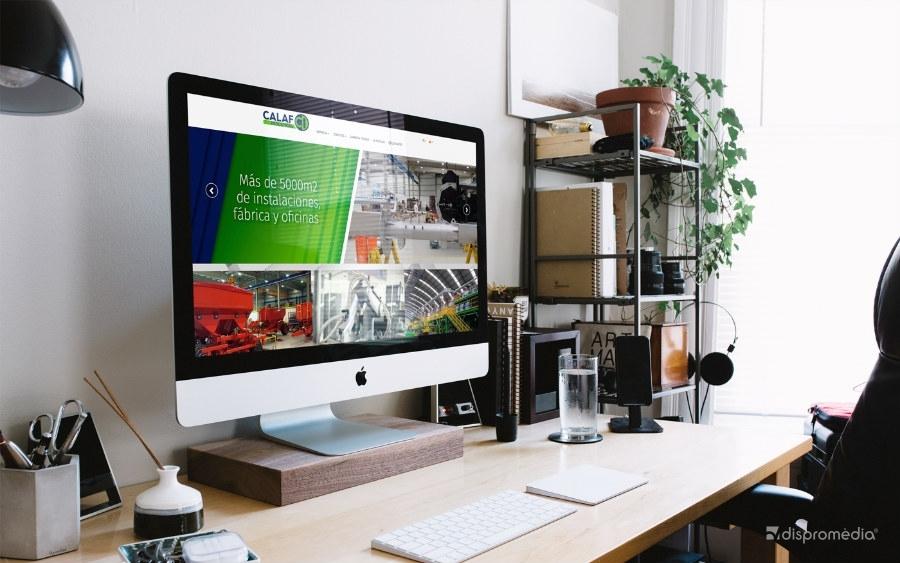Nou web per Calaf Industrial