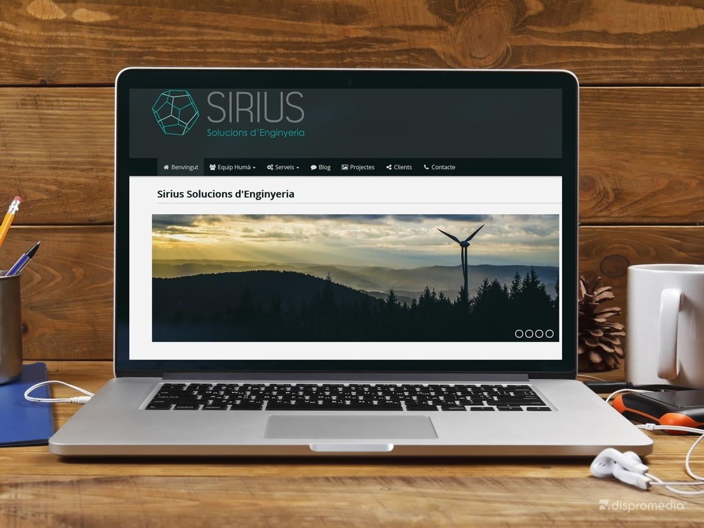 Sirius Enginyeria, nuevo proyecto de Ebasnet