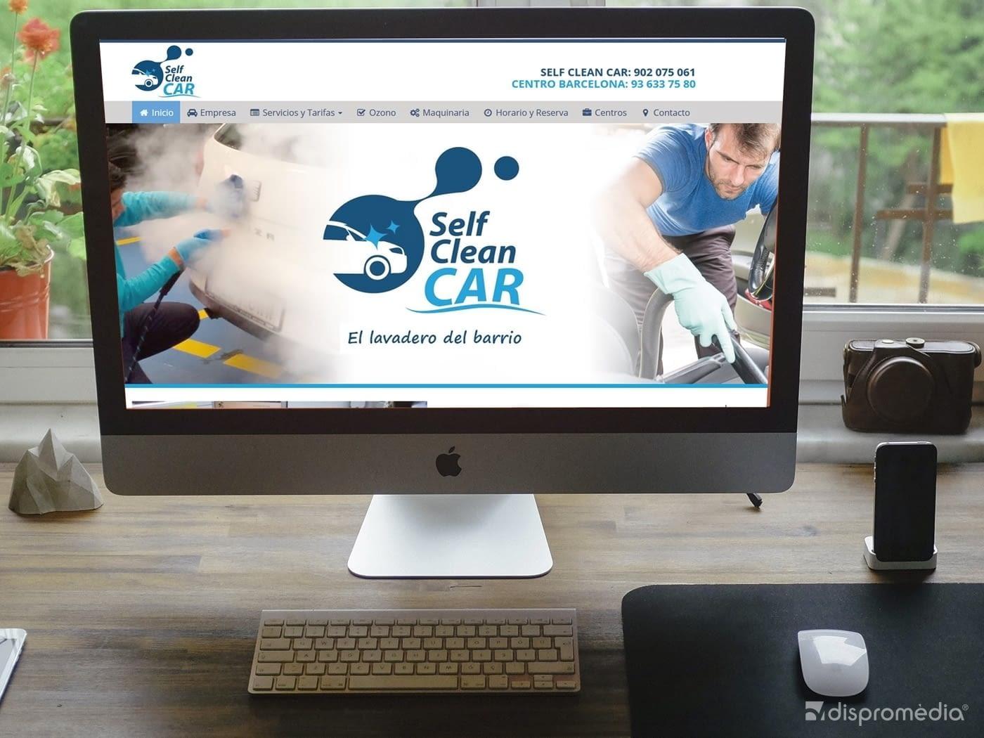 Proyecto Página Web para SelfCleanCar