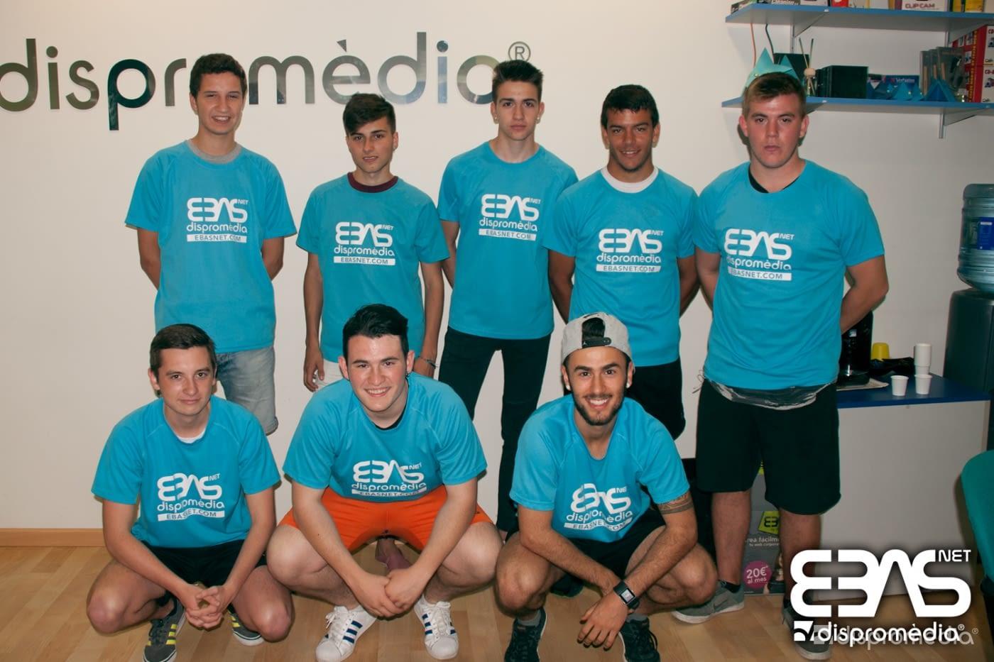 El nostre equip de Futbol 7