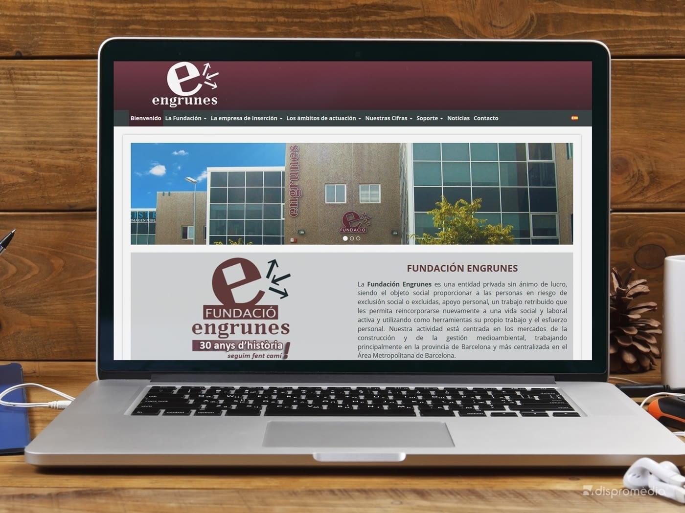 Fundació Engrunes confia en EBASNET