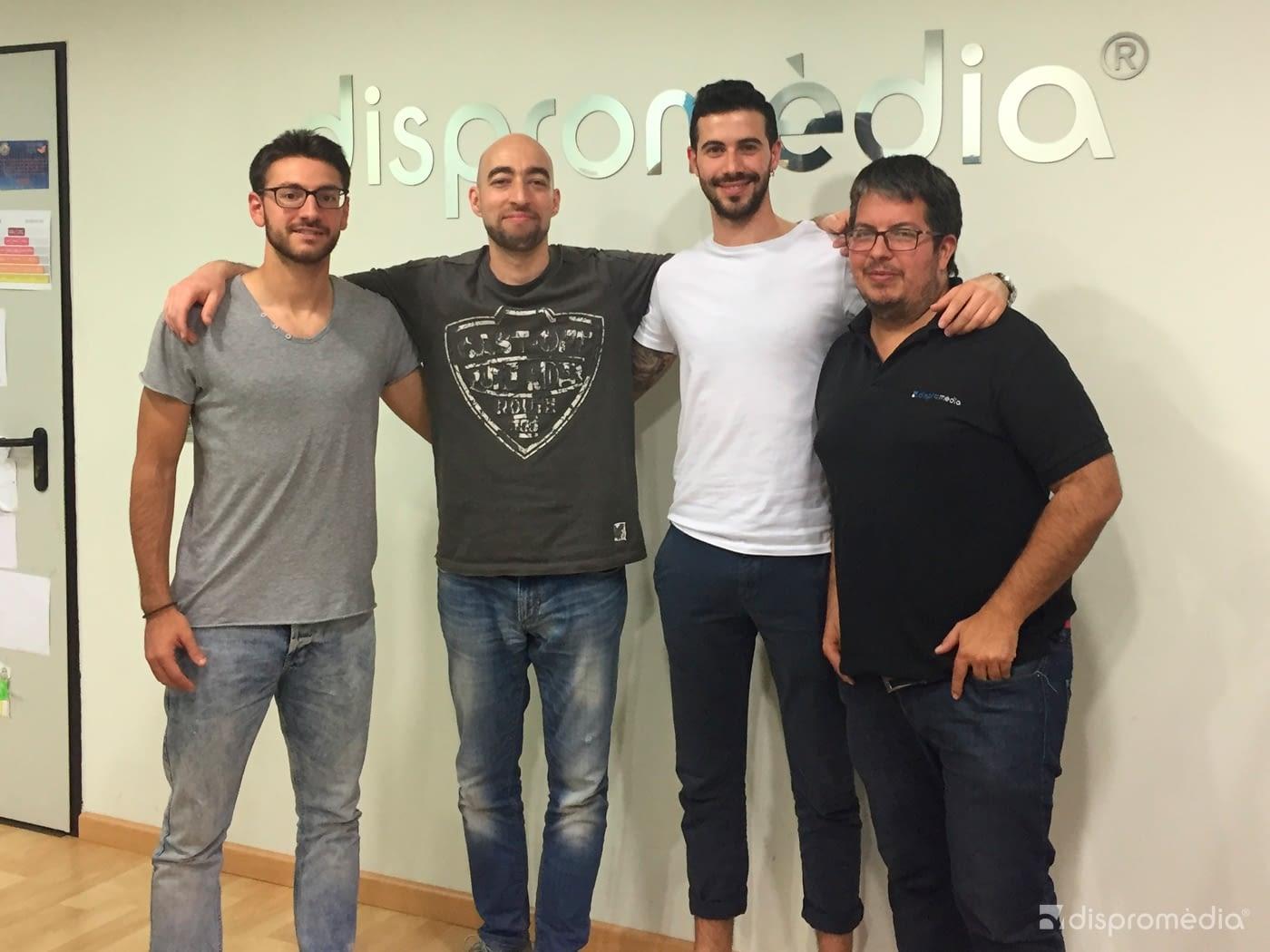 Visita Sorpresa del nostre exalumne Sergi Solé Tolosa