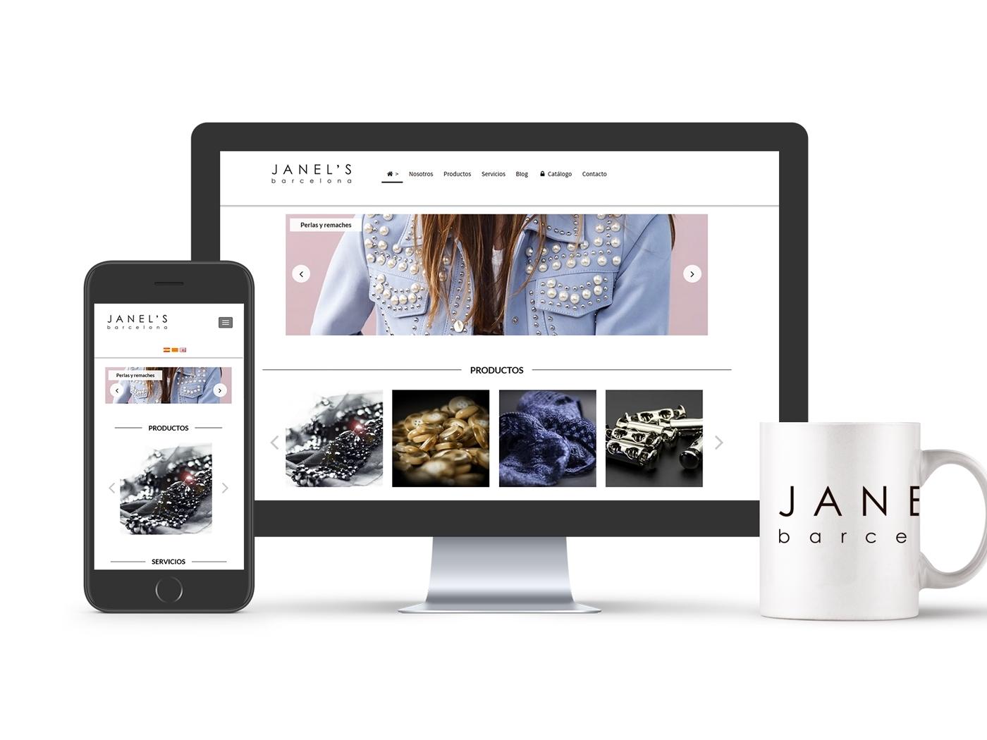 Janel's Barcelona confía en Dispromedia para su nuevo Proyecto Web