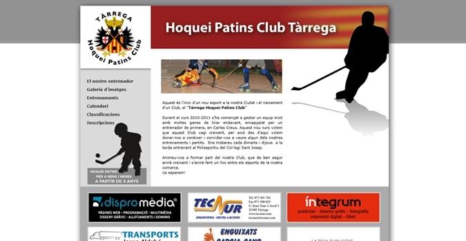 Dispromèdia colabora con el nuevo club infantil de hockey
