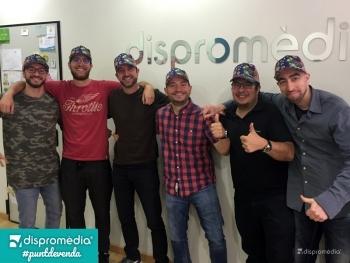 """Dispromèdia s'uneix al projecte """"Posa't la Gorra"""""""