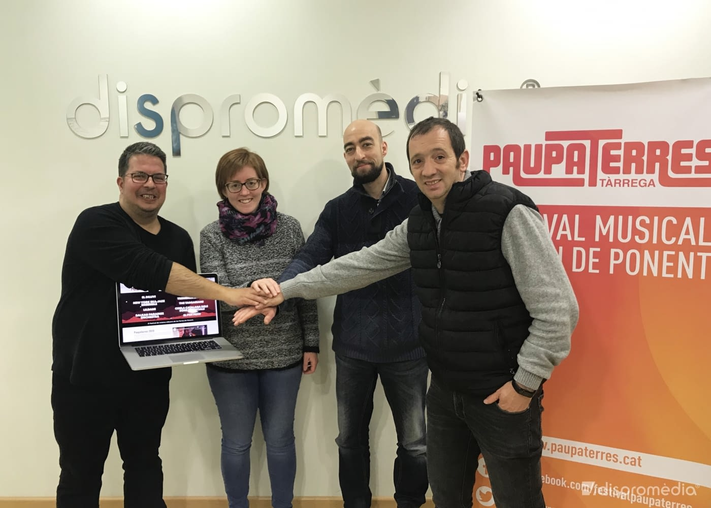 Dispromèdia, socio tecnológico del festival Paupaterres