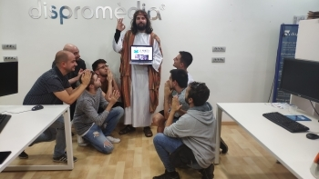 "Dispromèdia, sponsor of ""LO MEMEFEST"""