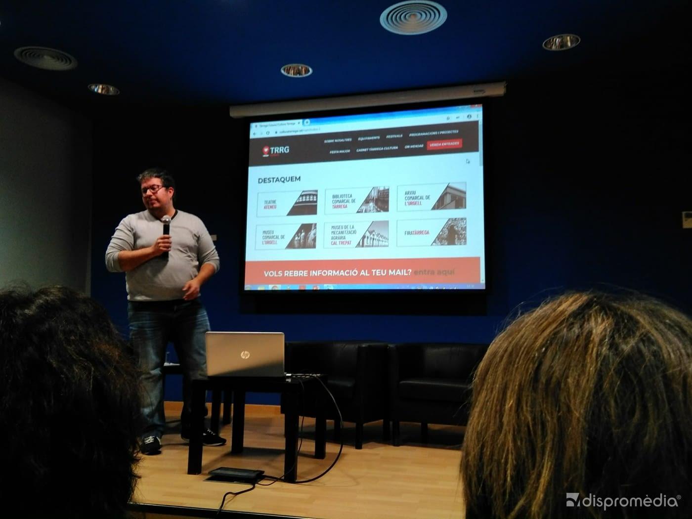 Presentación Nueva Web de Cultura