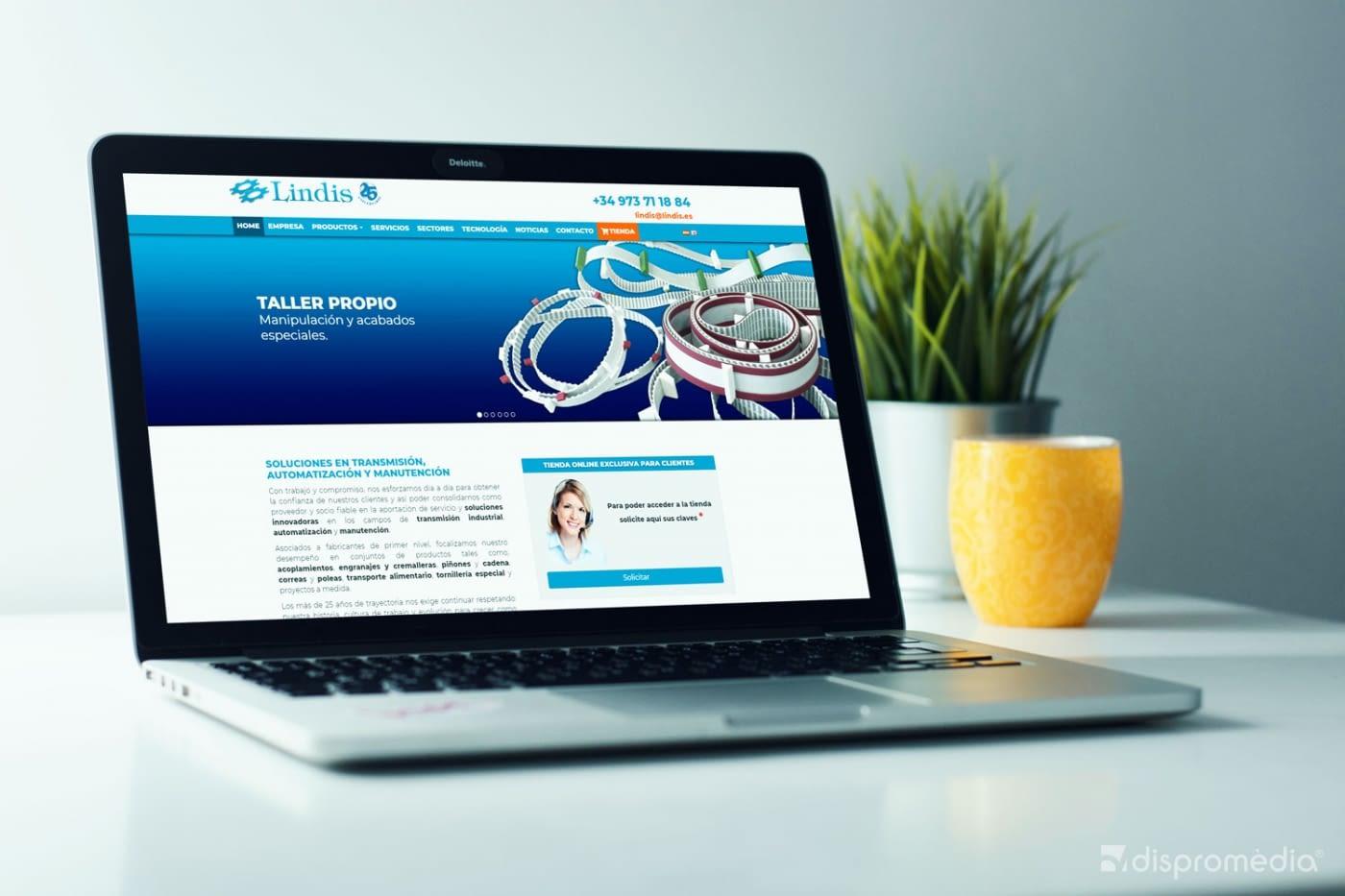 Presentació del nou web de Lindis