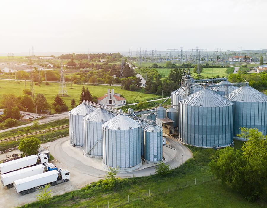 La tecnología utilizada en silos