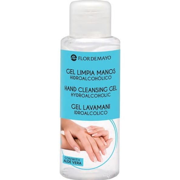 Gel desinfectante hidroalcohólico limpia manos con Aloe Vera. Gel dispensador 100Ml -