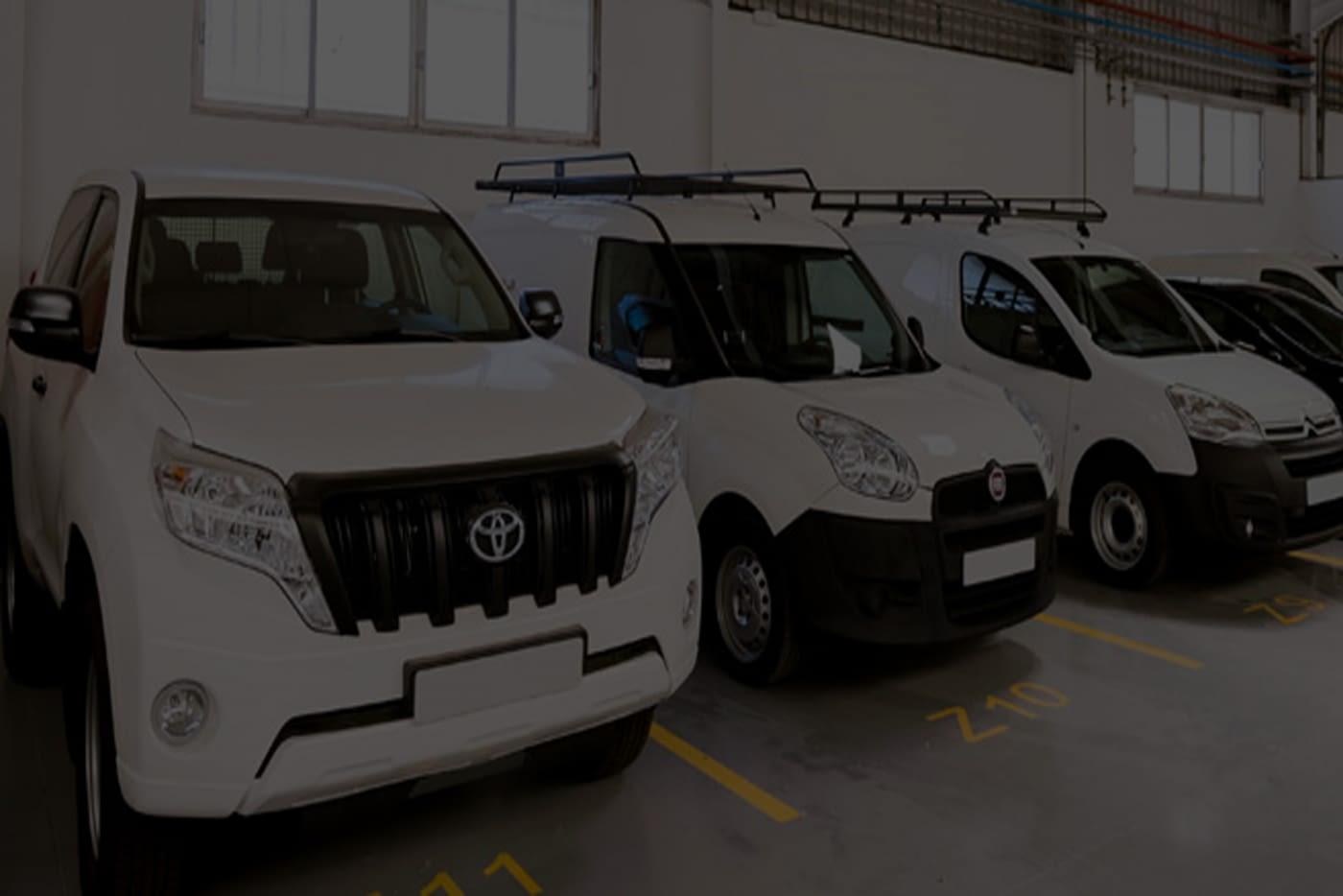 Limpieza en empresas de alquiler de vehículos
