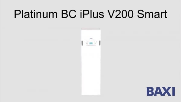 Nova bomba de calor Baxi Platinum BV iPlus V2000 Smart