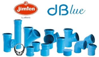 Coneix el sistema de baixants insonoritzats dBlue de Jimten