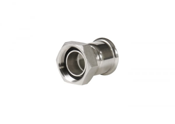 26RP15X12 - TAP CONNECTOR 2 PIÈCES FIG. 359 15X1/2'' INOX - FILTUBE