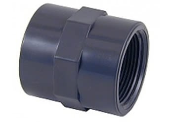 "01901 - THREADED SOCKET 1"" PVC - FLUIDRA - 2"