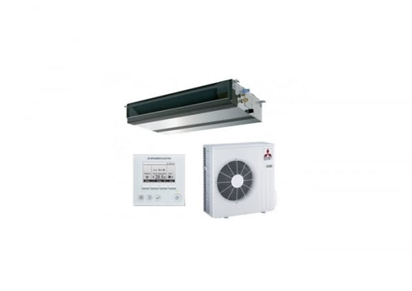 MGPEZ-100VJA-C33 - CONJUNTO CONDUCTOS R32 MR SLIM 10.0KW PAR-33 - MITSUBISHI ELECTRIC