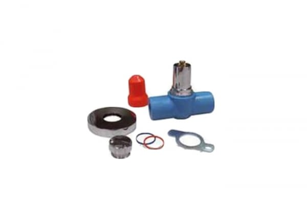 NRS20 - 20MM RECESSED BALL STOP VALVE - NIRON
