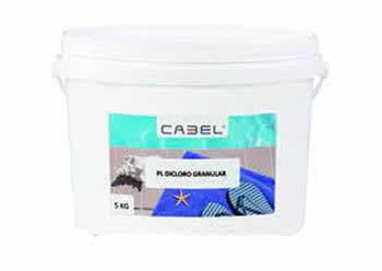 03156QS121 - GRANULADO TRICLORO 5KG. - CABEL - 1
