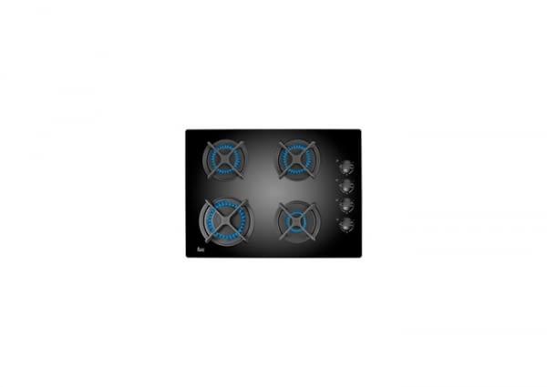 40229215 - PLACA GAS NATURAL HFLUX504G 4 FOCS VIDRE NEGRE - TEKA