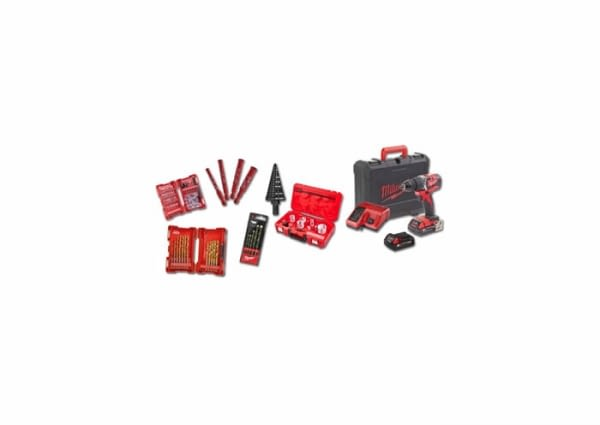 4933464320 - KIT ACCESSORIS + TALADRE M18 CBLPD-202C - MILWAUKEE