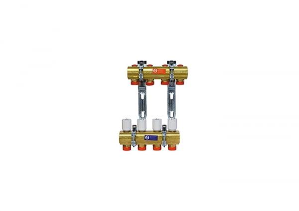 """R553Y004 - COLECTOR PRE MONTADO LATON 1""""x18/4 R553D - GIACOMINI"""