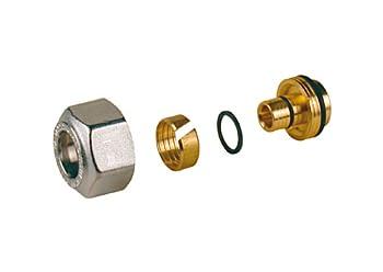 R179X025 - ADAPTADOR P/TUBO PLASTICO 16X12/8 R179 - GIACOMINI