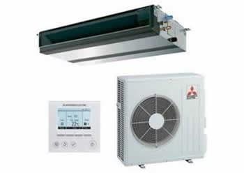 MGPEZ-100VJA-C40 - CONJUNTO CONDUCTO R32 MR SLIM PRO 10KW PAR-40 - MITSUBISHI ELECTRIC
