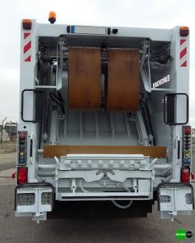 Recolector carga trasera CROSS 16 - 3