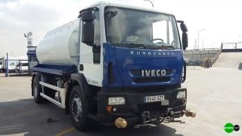 Camion cisterna ROSROCA riego y baldeo de calles