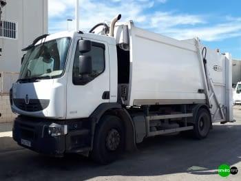 Recolector carga trasera CROSS 16 Renault 18Tn Basurero