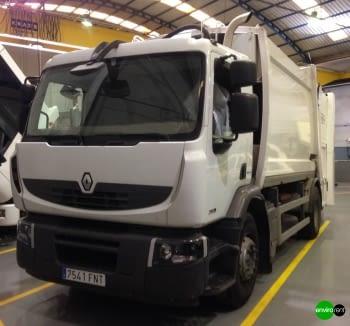 Recolector carga trasera CROSS 16 Renault 18Tn Basurero - 1