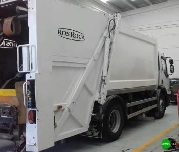 Recolector carga trasera CROSS 16 Renault 18Tn Basurero - 2