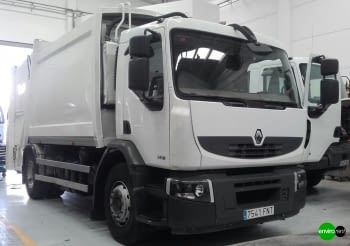 Recolector carga trasera CROSS 16 Renault 18Tn Basurero - 3