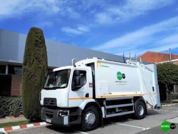 Recolector carga trasera ROSROCA OLYMPUS 16W sobre Renault 18Tn