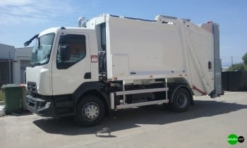 Recolector carga trasera ROSROCA OLYMPUS 11N Renault 16Tn