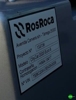ROSROCA Barredora viaria CITYCAT 2020XL EURO6 - 2