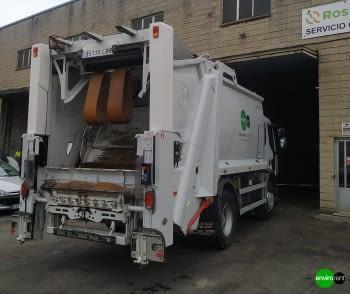 Recolector carga trasera ROSROCA OLYMPUS 16W - 2