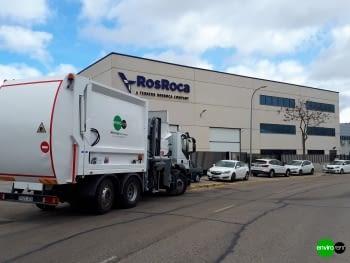 Recolector carga lateral ROS ROCA FARID FMO 25 Euro6 - 2