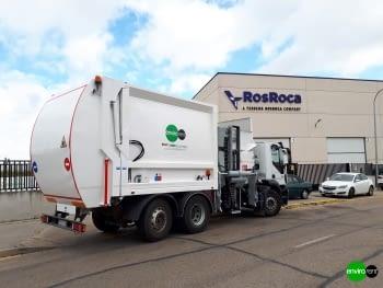 Recolector carga lateral ROS ROCA FARID FMO 25 Euro6 - 3