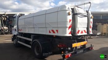 Camión cisterna baldeadora ROSROCA de calles 8000 litros - 2